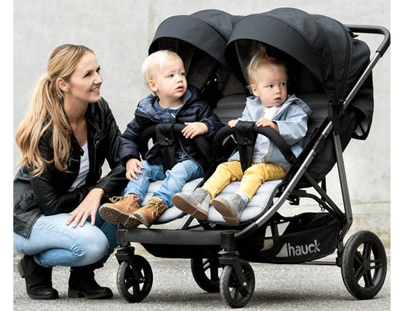 pełny komfort hauck rapid 3r duo wózek bliźniaczy