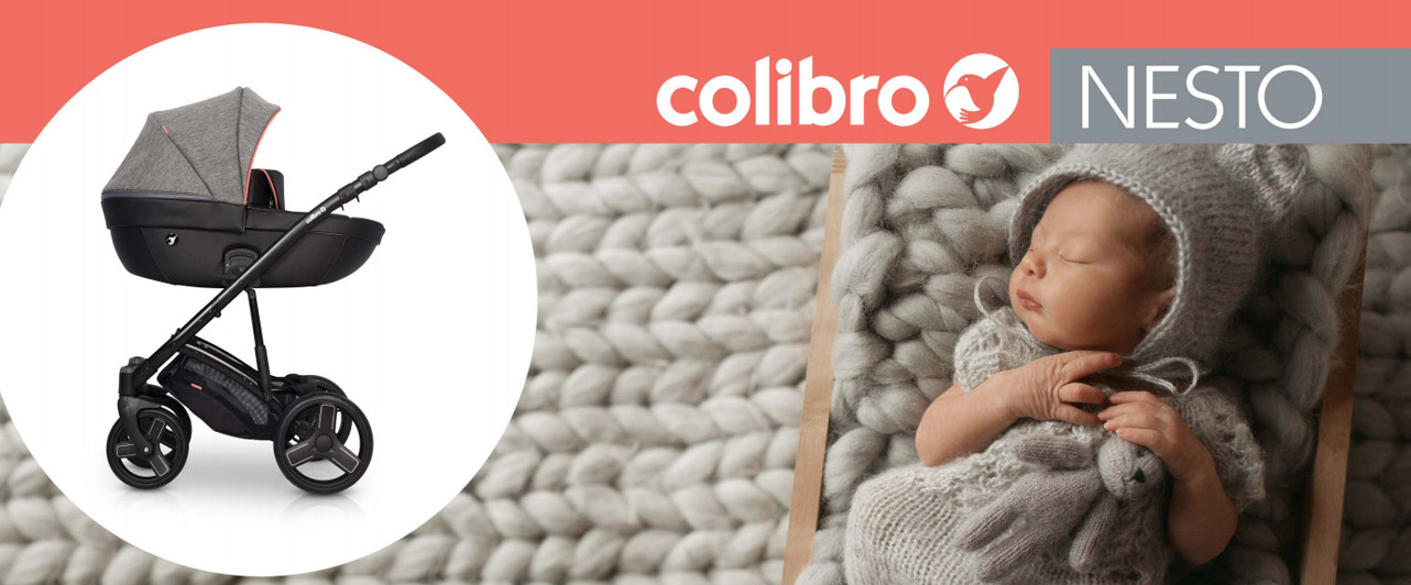 wózek dla dziecka colibro nesto