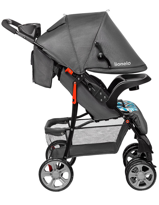 lionelo emma plus wózek spacerowy duża budka