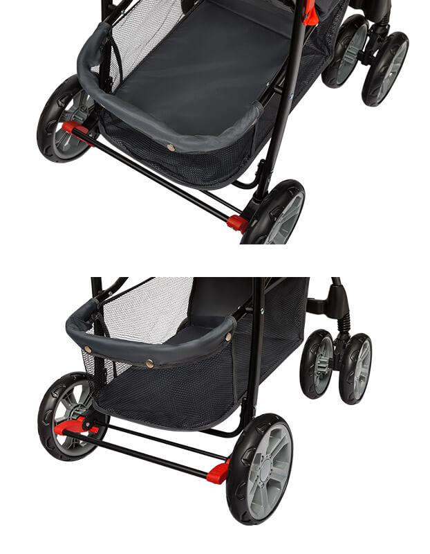 lionelo emma plus wózek spacerowy kosz