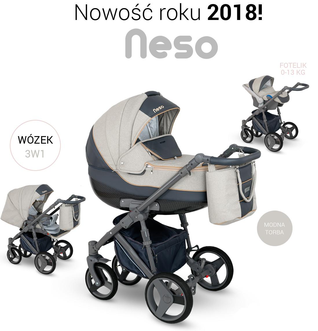 Camarelo neso wózek wielofunkcyjny 2w1 w opcji 3w1