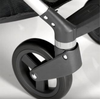 bardzo dobra amortyzacja wózka spacerowego oyster zero