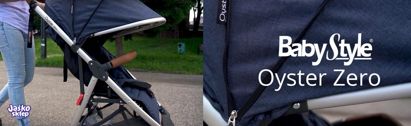 wózek spaceowy oyster zero