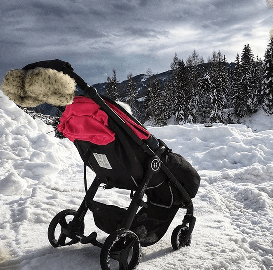 wózek spacerowy idealny na zimę