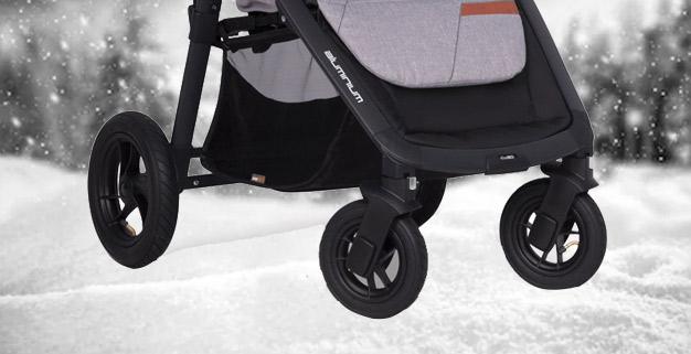 wózek spacerowy na zimę