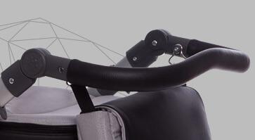 profilowana rączka wózka