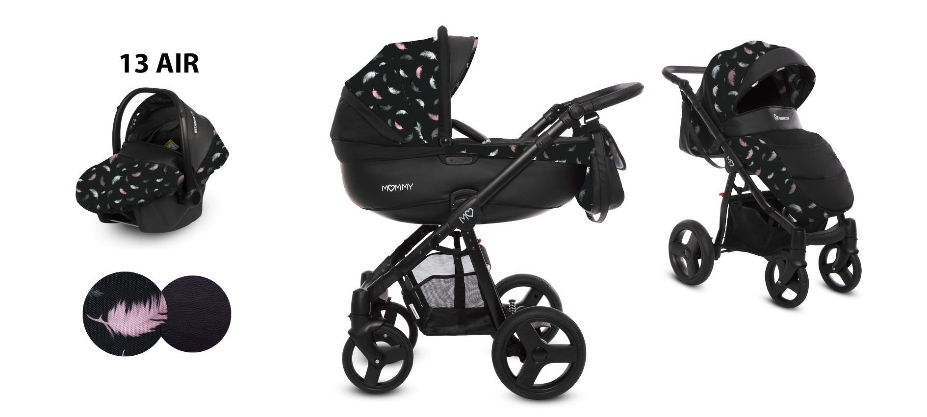Wózek dziecięcy baby active mommy kolorystyka