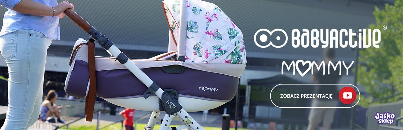 wózek dziecięcy babyactive mommy