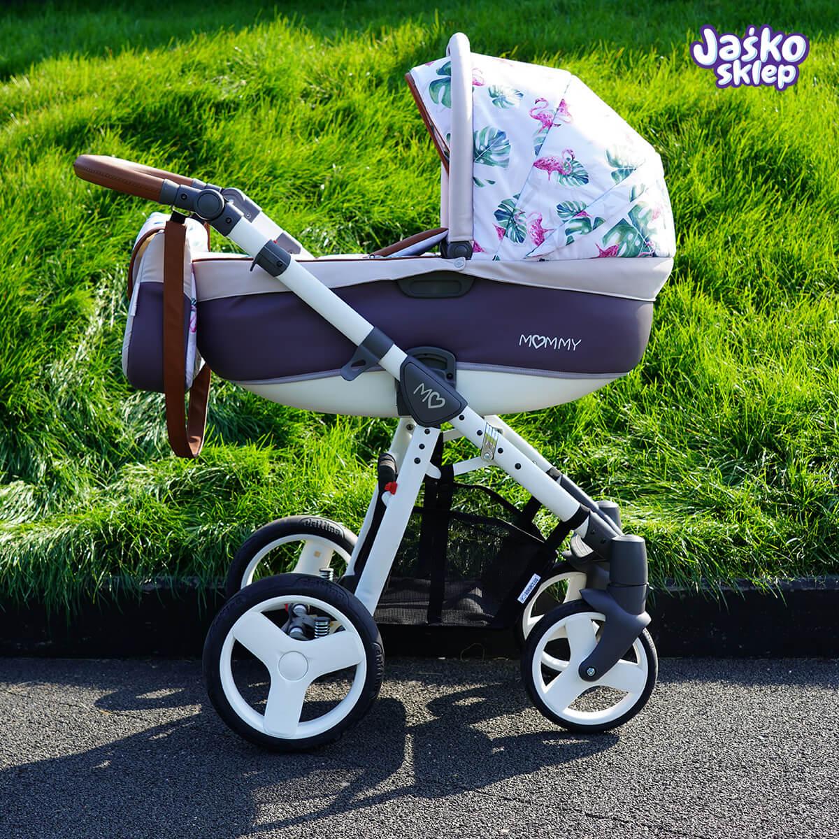 flamingo wózek dziecięcy babyactive mommy