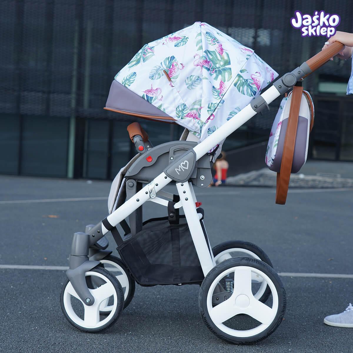 wózek spacerowy babyactive mommy 2w1