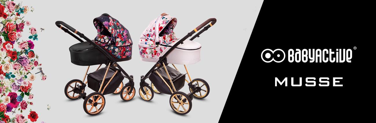 babyactive wózek dziecięcy musse