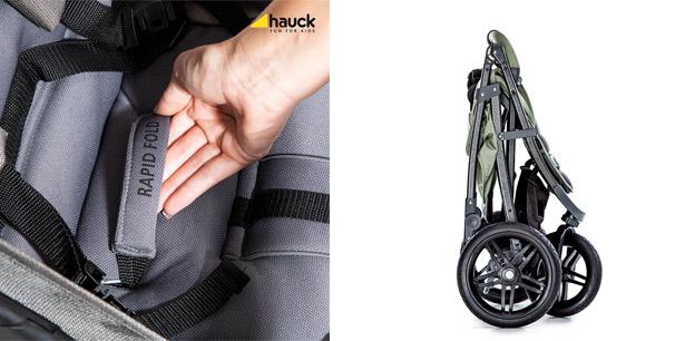 składanie wózka jedną ręką