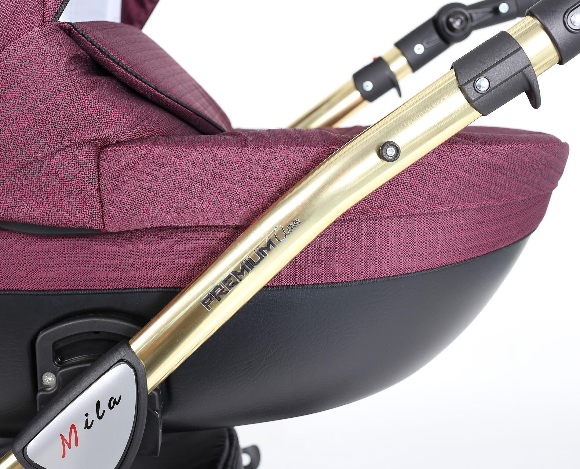 kunert złota rama wózek dziecięcy