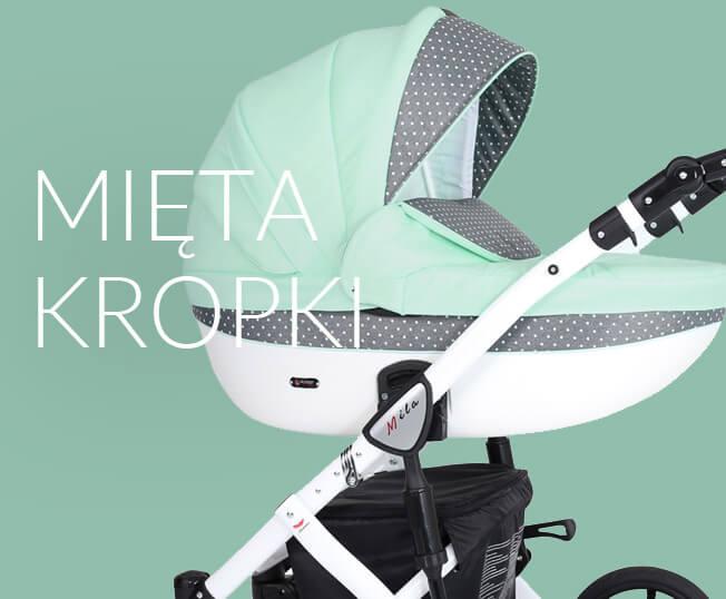 kunert mila wózek dla dziecka mięta