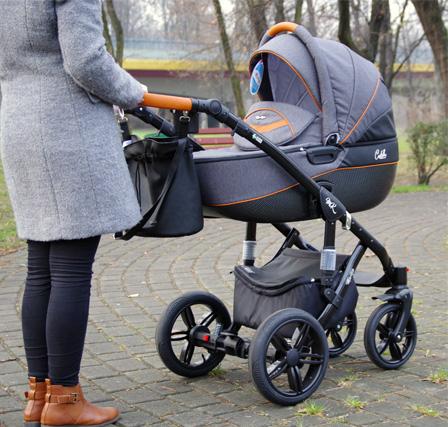 wózek dziecięcy milukids castello