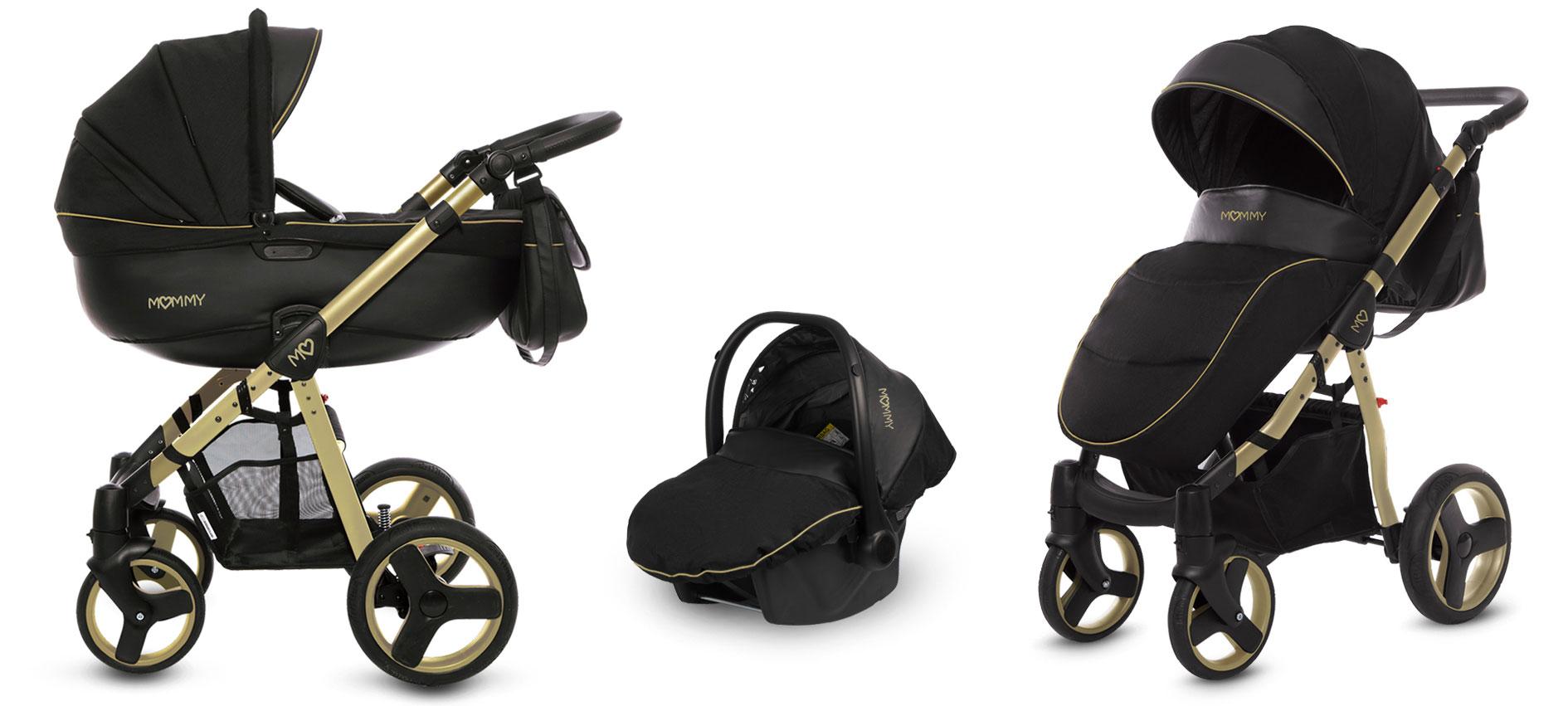 wózek mommy gold 2w1